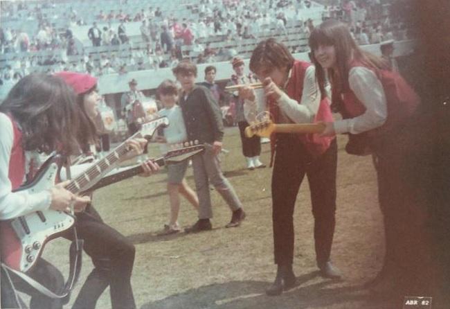 [PRESS] AS ANDORINHAS: Uma das bandas precursoras do rock em Porto Alegre, formada só por garotas