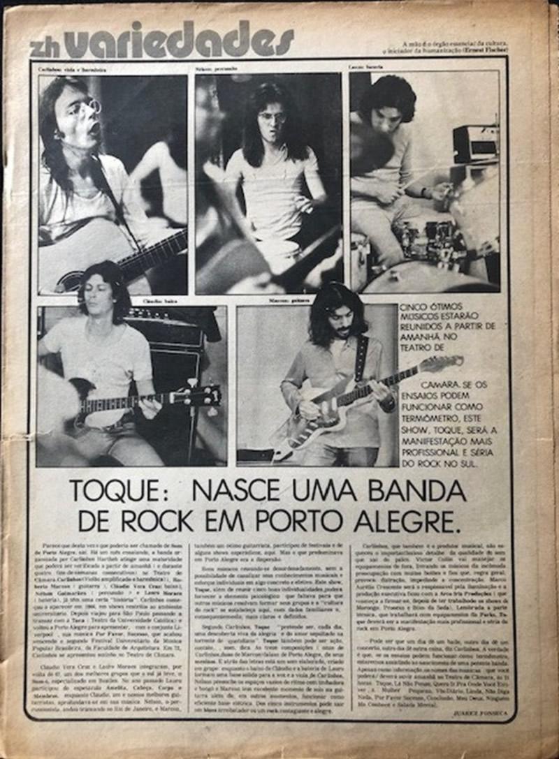 [PRESS] Como nasce uma banda de Rock em Porto Alegre