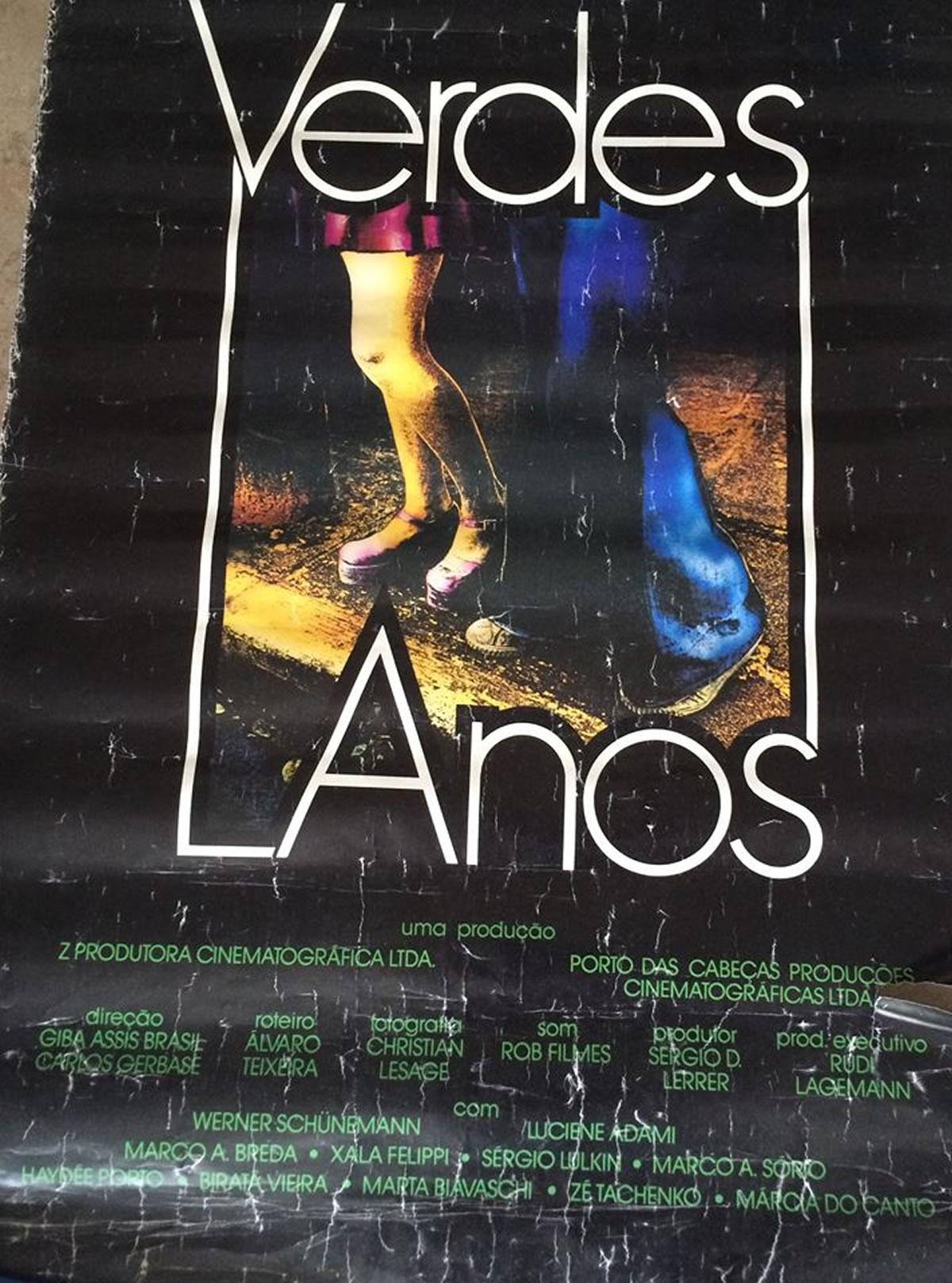 [ACERVO] Poster original do filme Verdes Anos e o premiado em Gramado