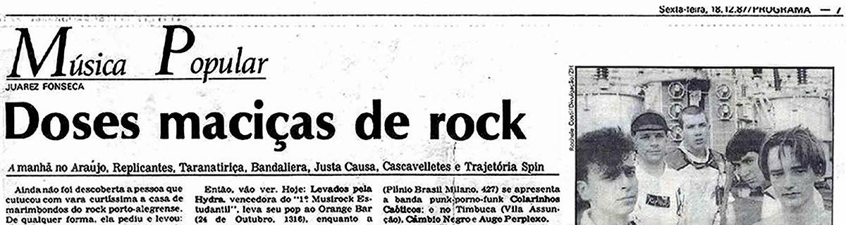 [REVIEW] Doses maciças de Rock Gaúcho: shows e discos