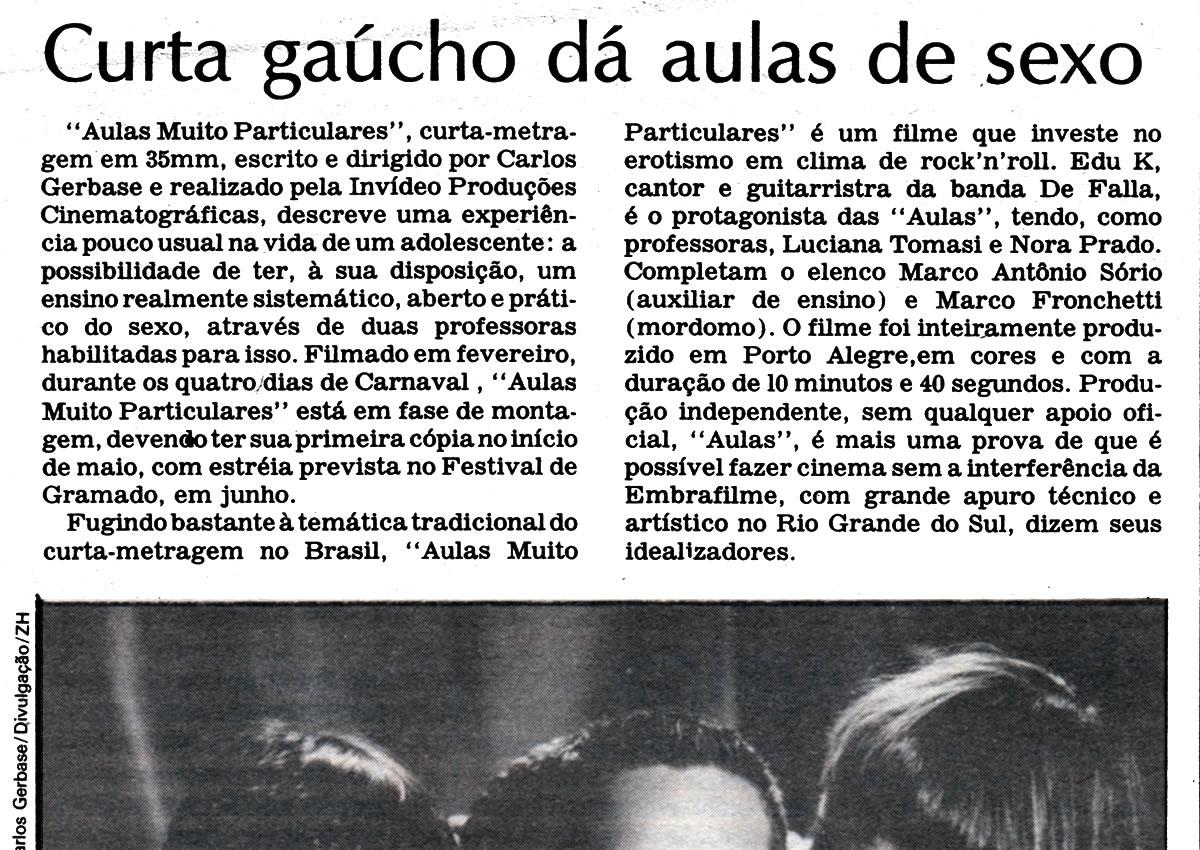 [REVIEW] Curta Gaúcho dá aulas de sexo