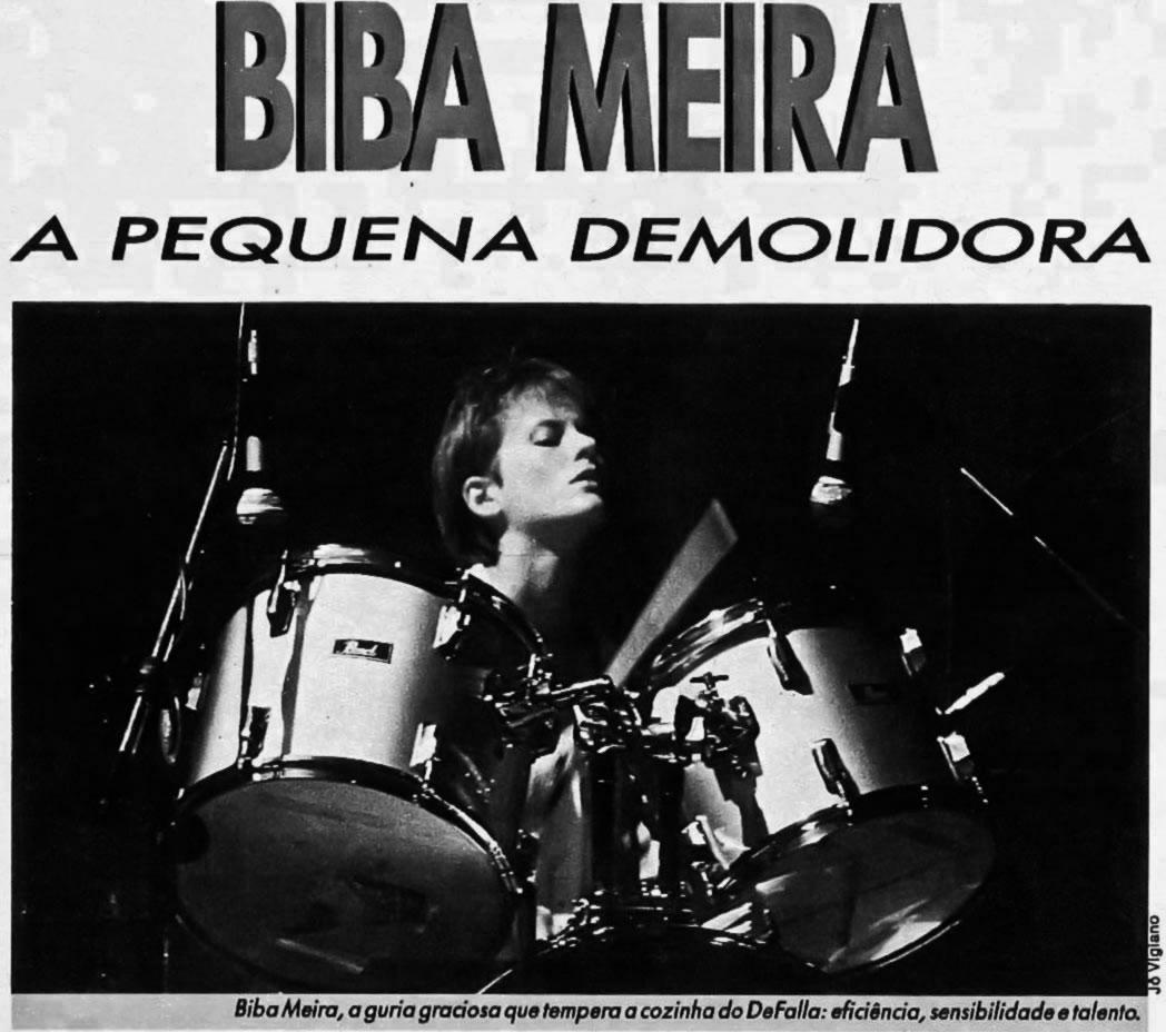 [REVIEW] Biba, a pequena demolidora - Revista Bizz