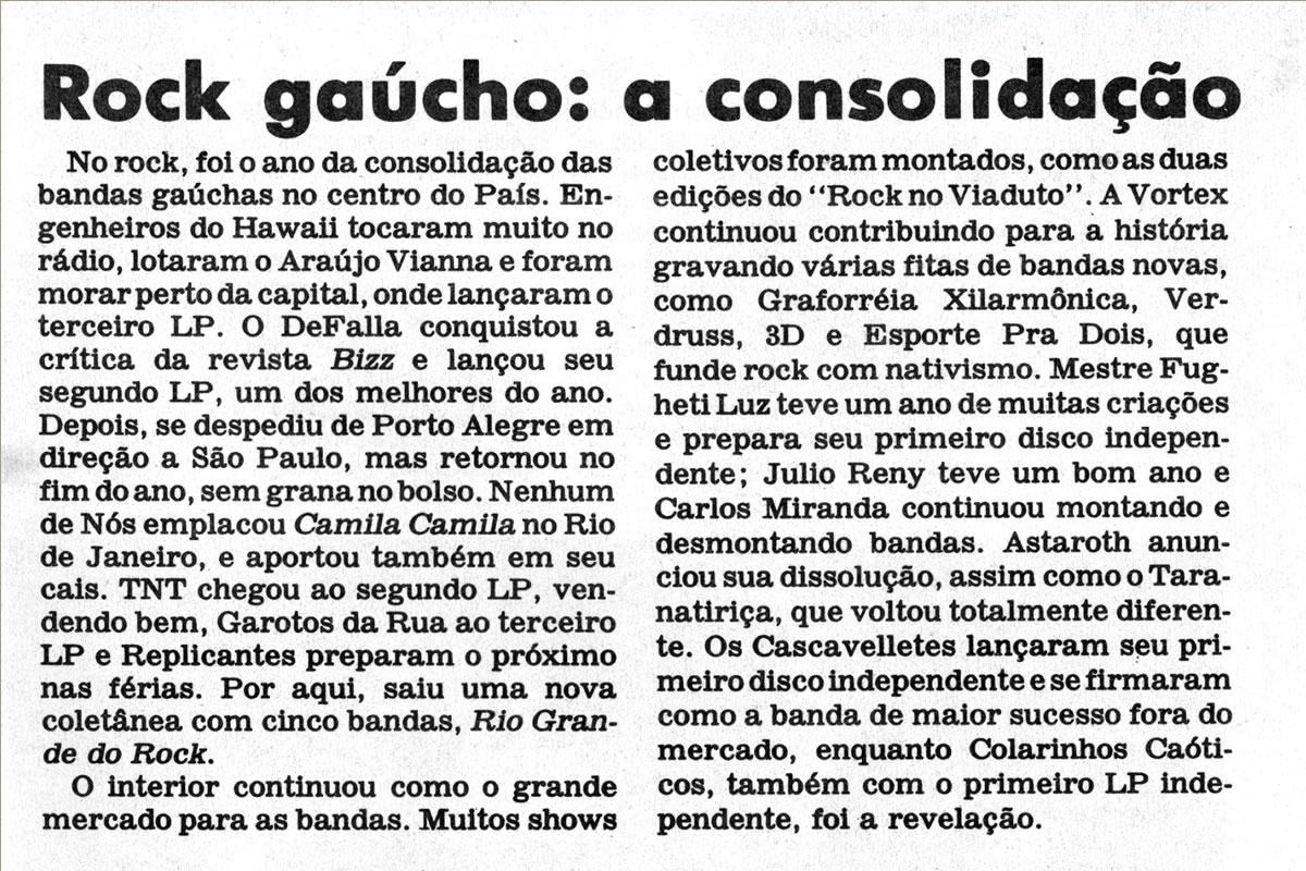 [REVIEW] Rock Gaúcho: a consolidação das Bandas