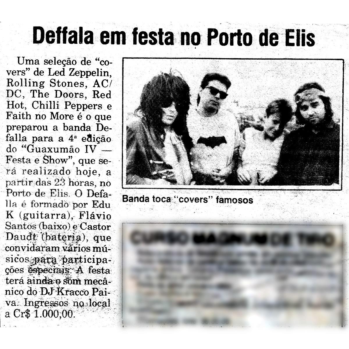[PRESS] Deffala em festa no Porto de Elis